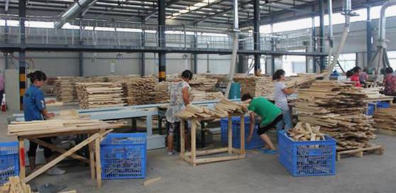 現代化生產工廠